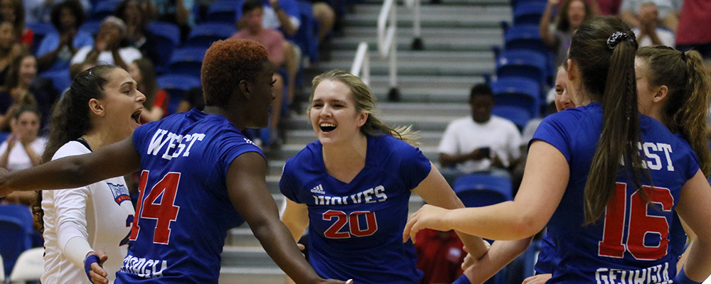 UWG Volleyball Camps